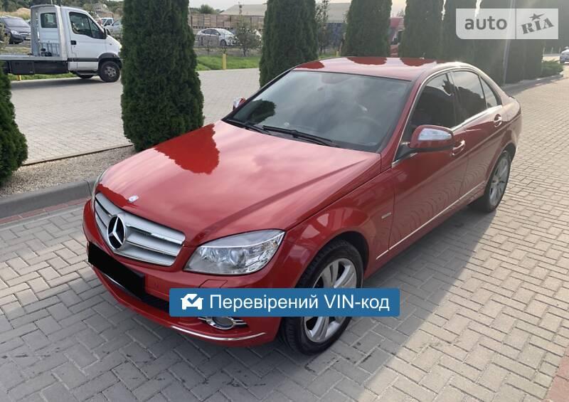 Mercedes-Benz C 200 Avangard 2008
