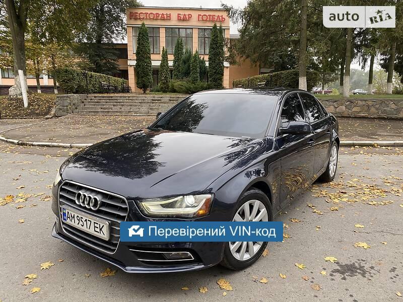 Audi A4 RODNOJ OKRAS.IDEAL. 2012