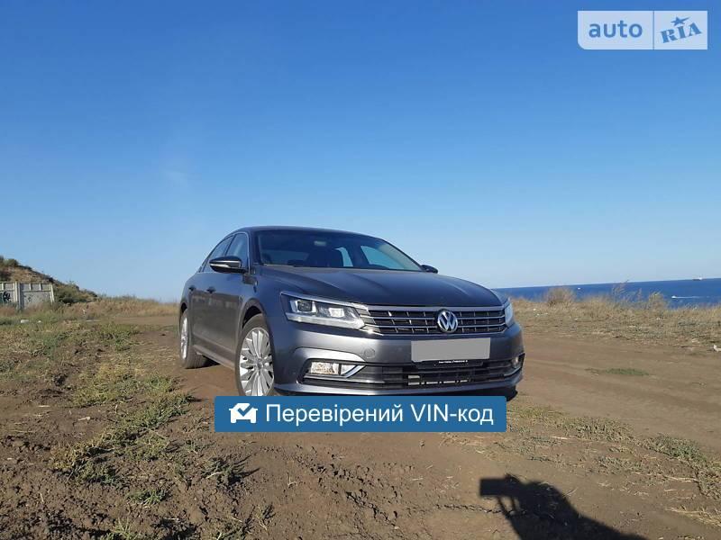 Volkswagen Passat B8 SE Premium 2016