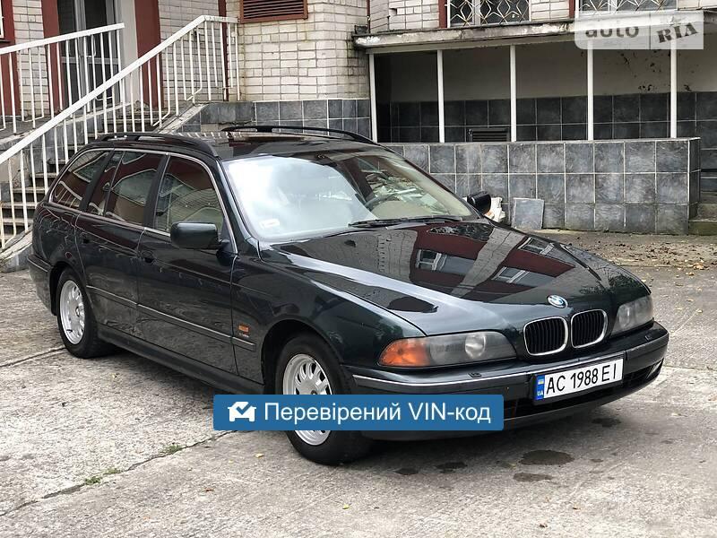 BMW 520 MAKSUMALNA NA GAZU 2000