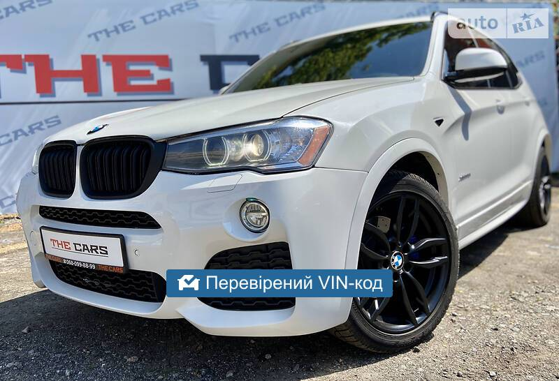 BMW X3 M package  2014