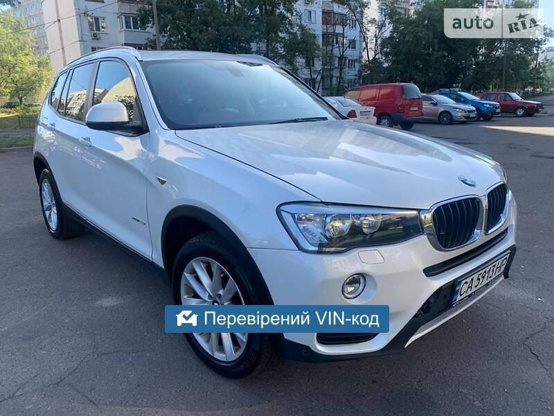 BMW X3 2.8i xDrive 2017