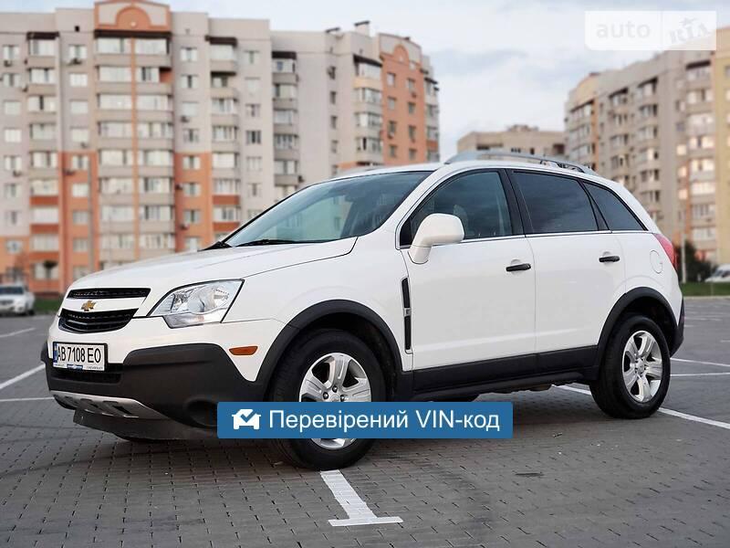 Chevrolet Captiva LS Flex Fuel  2014