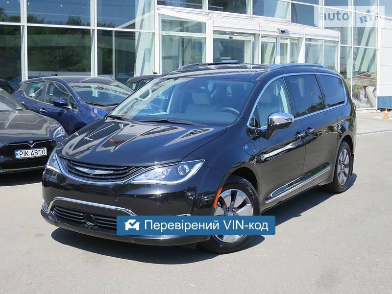 Chrysler Pacifica Plugin Hybrid 16kW 2017