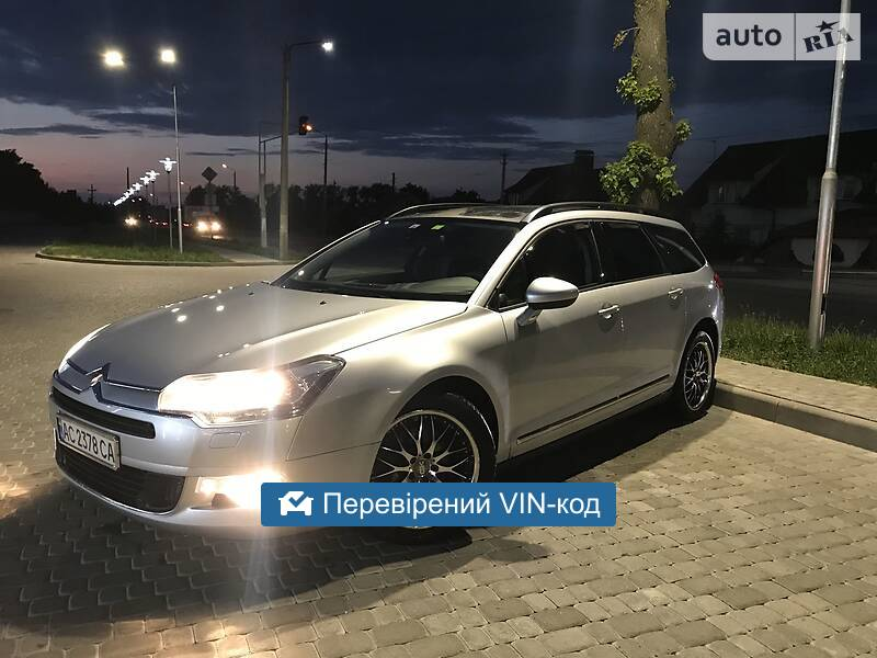 AUTO.RIA – Продам Citroen C5 2010 дизель 2.0 универсал бу в Ковеле, цена 8500 $