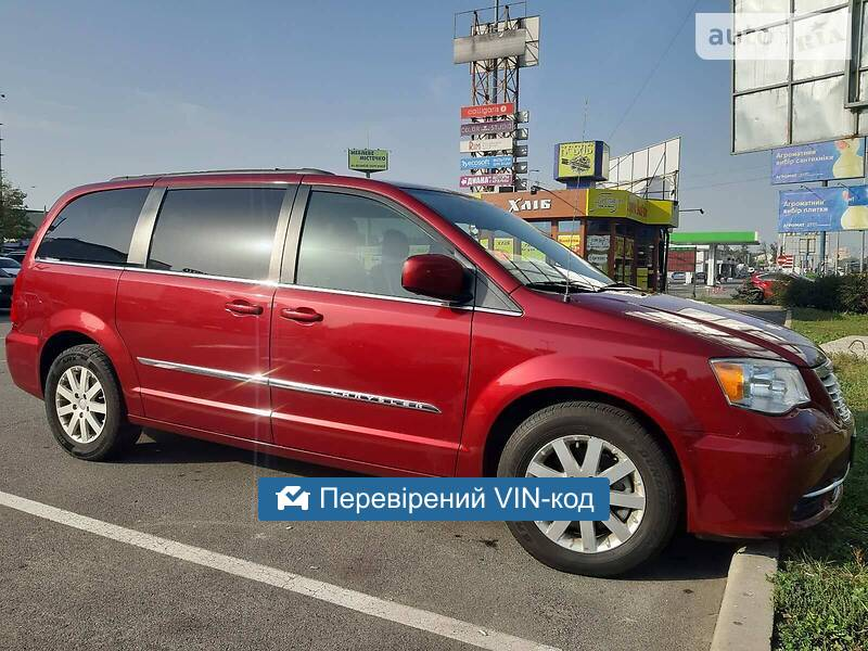 Chrysler Town & Country 3.6 TURING 2014
