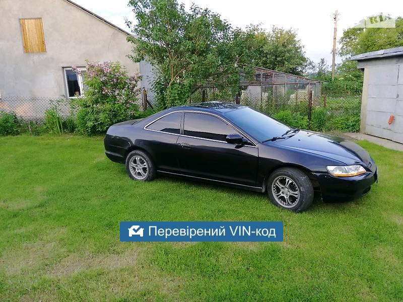 AUTO.RIA – Продам Honda Accord Coupe 2000 газ/бензин 3.0 купе бу в Львове, цена 4200 $