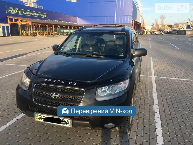 Hyundai Santa FE 7 місць  2008