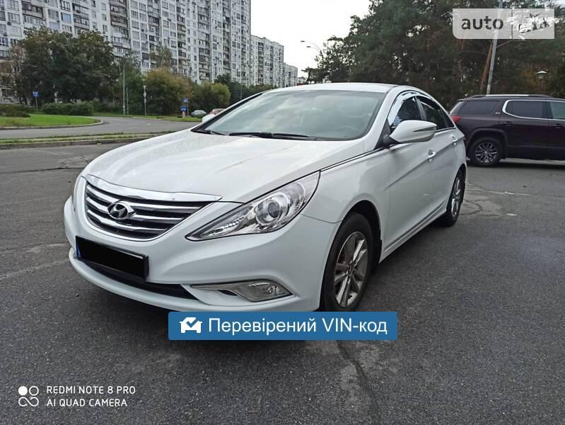 Hyundai Sonata YF LPI 2015