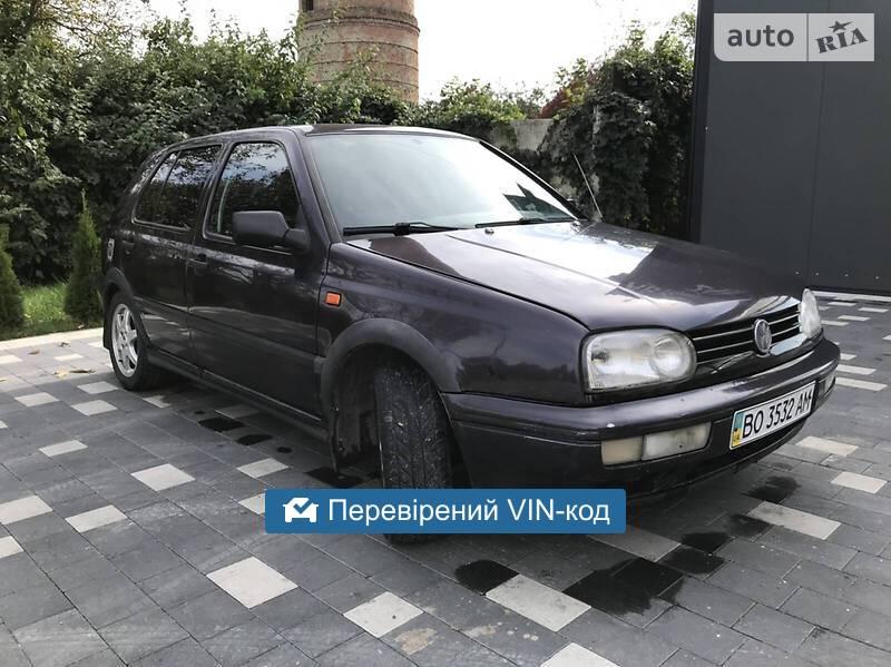 Volkswagen Golf III GT 1992