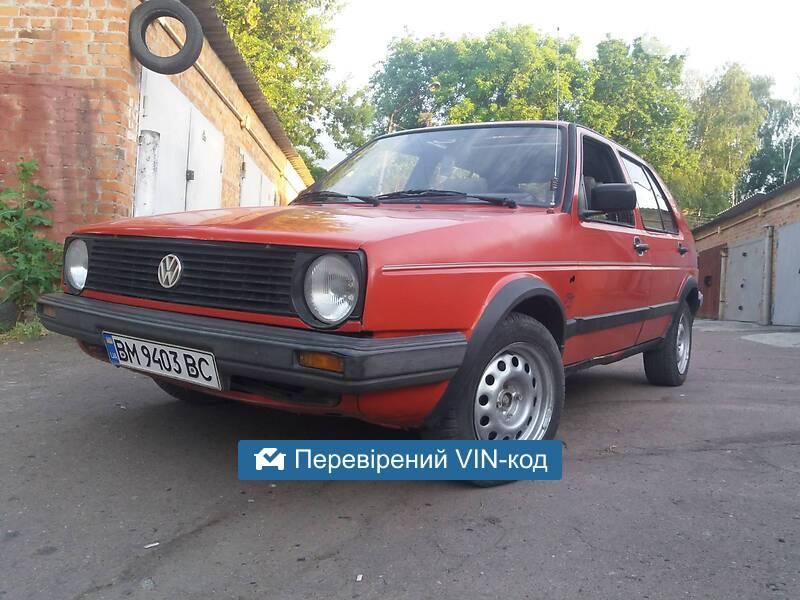 Volkswagen Golf II Memfis 1987
