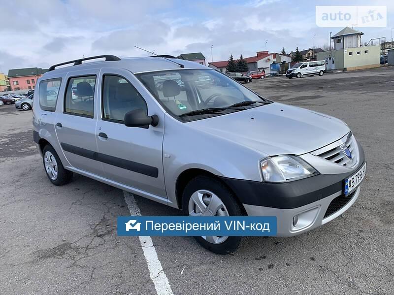 Dacia Logan MCV 2007