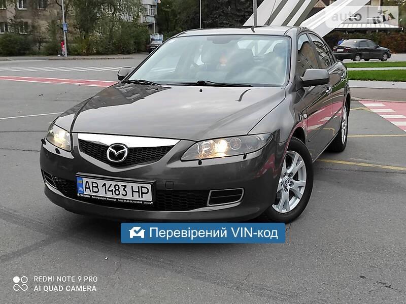Mazda 6 Evropa Nefarbovana 2007