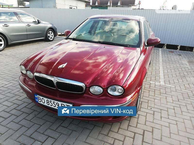 AUTO.RIA – Продам Jaguar X-Type 2003 газ/бензин 2.5 седан бу у Кам