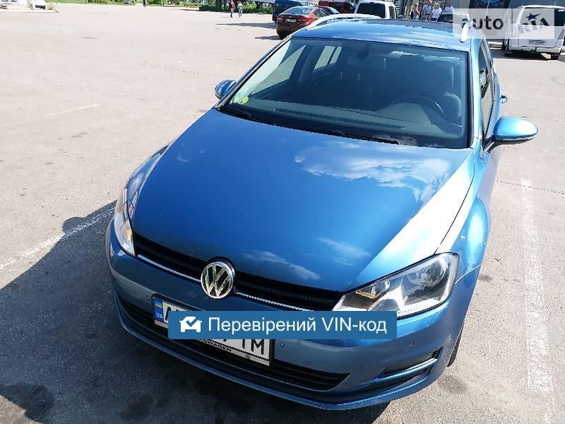 Volkswagen Golf VII 1.6Tdi Bluemotion 2014