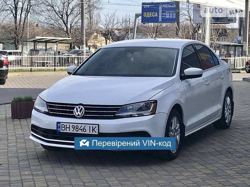 AUTO.RIA – Продам Volkswagen Jetta 2016 бензин 1.4 седан бу в Одессе, цена 10300 $