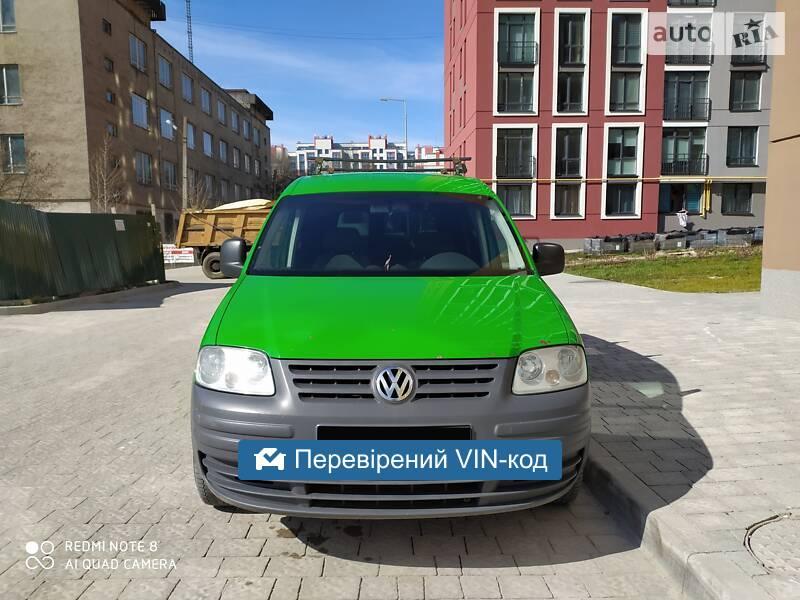 AUTO.RIA – Продам Volkswagen Caddy пасс. 2005 дизель 1.9 мінівен бу у Львові, ціна 6000 $