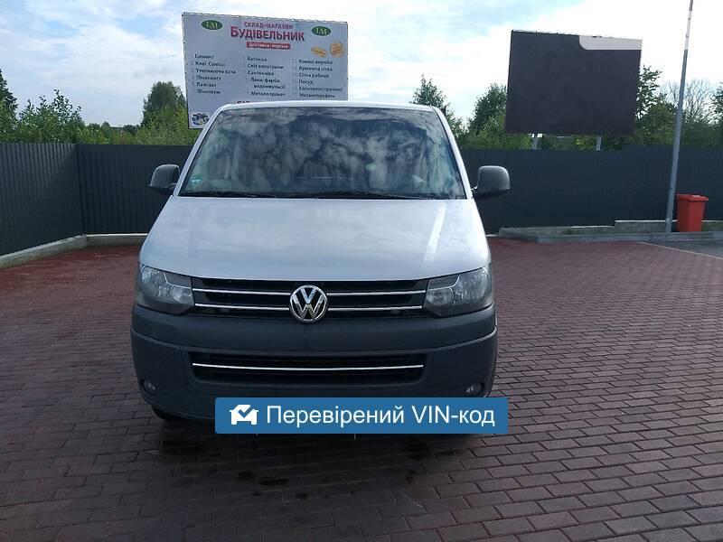 Volkswagen T5 (Transporter) груз. 2012