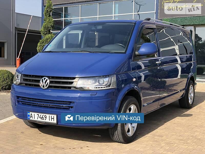 Volkswagen T1 (Transporter) пас. 2011