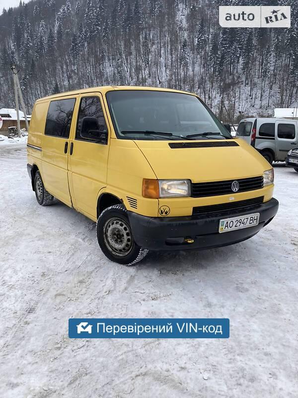 Volkswagen T4 (Transporter) груз-пасс. 1998