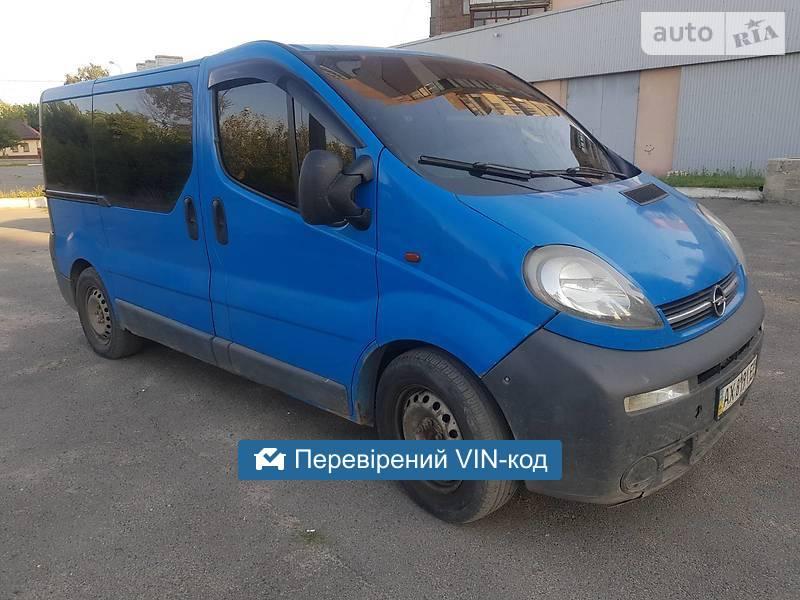 Opel Vivaro пасс. 8 mest 2005