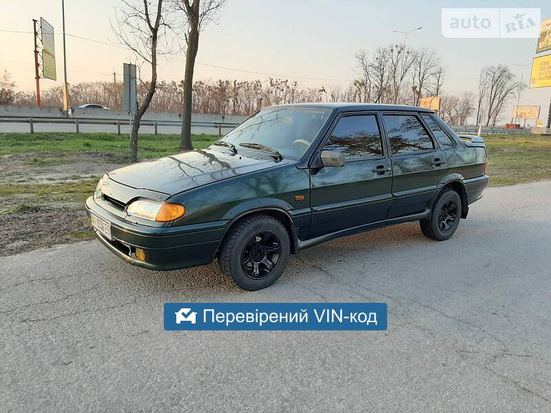 AUTO.RIA – Продам ВАЗ 2115 2003 газ/бензин 1.5 седан бу в Киеве, цена 2450 $